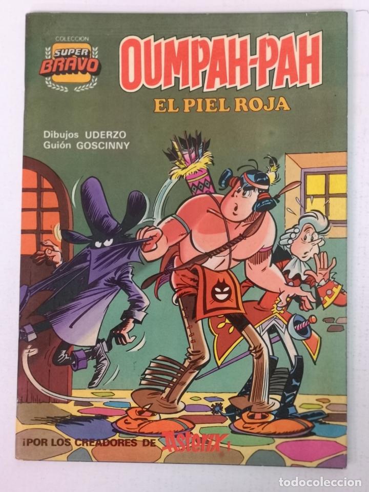 OUMPAH PAH EDT. BRUGUERA 1°EDICION N°4 (Tebeos y Comics - Bruguera - Otros)