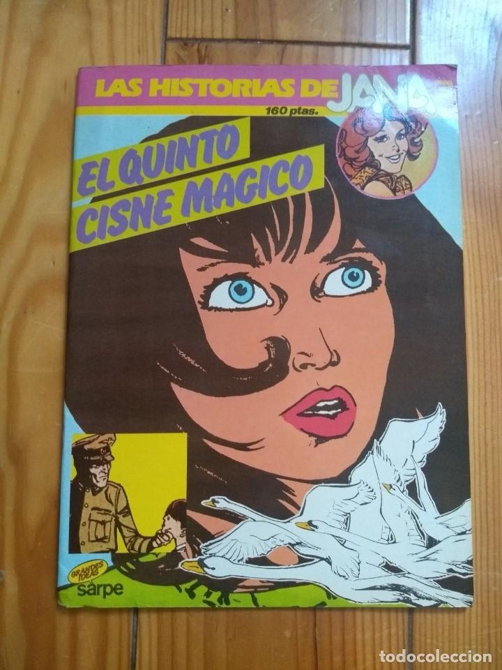 LAS HISTORIAS DE JANA 3 - EL QUINTO CISNE MÁGICO (Tebeos y Comics - Bruguera - Esther)