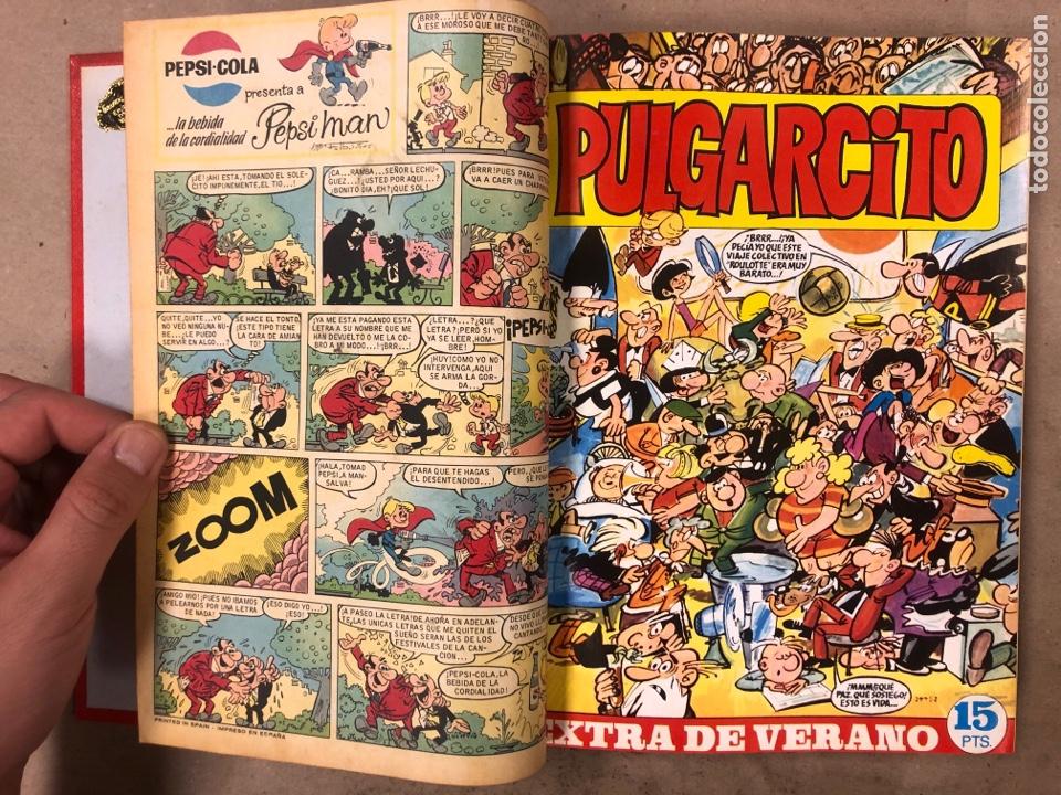 Tebeos: PULGARCITO. TOMO CON 20 TEBEOS ENCUADERNADOS (BRUGUERA 1968). NÚMEROS EN DESCRIPCIÓN. - Foto 6 - 175808578