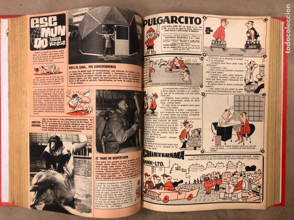 Tebeos: PULGARCITO. TOMO CON 20 TEBEOS ENCUADERNADOS (BRUGUERA 1968). NÚMEROS EN DESCRIPCIÓN. - Foto 19 - 175808578