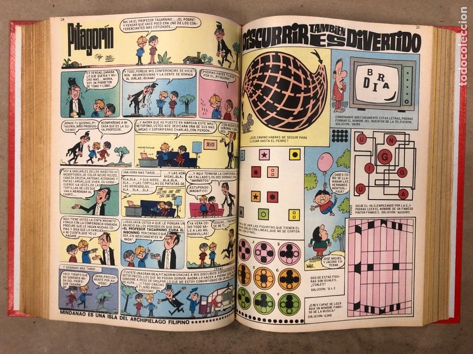 Tebeos: PULGARCITO. TOMO CON 20 TEBEOS ENCUADERNADOS (BRUGUERA 1968). NÚMEROS EN DESCRIPCIÓN. - Foto 23 - 175808578