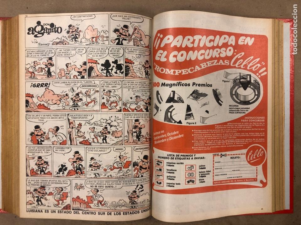 Tebeos: PULGARCITO. TOMO CON 20 TEBEOS ENCUADERNADOS (BRUGUERA 1968). NÚMEROS EN DESCRIPCIÓN. - Foto 33 - 175808578
