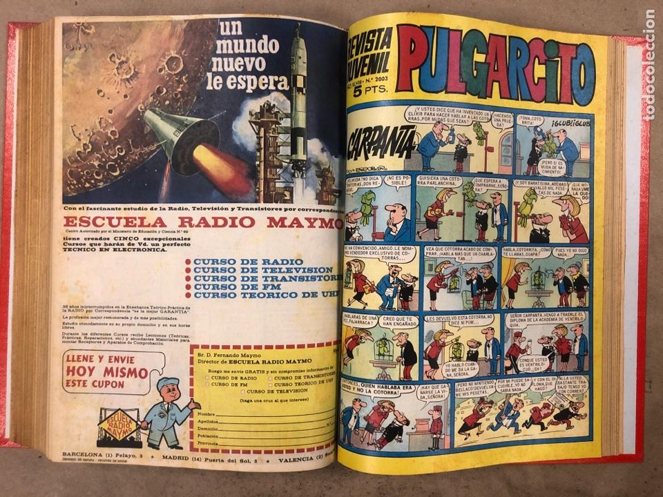 Tebeos: PULGARCITO. TOMO CON 20 TEBEOS ENCUADERNADOS (BRUGUERA 1968). NÚMEROS EN DESCRIPCIÓN. - Foto 36 - 175808578