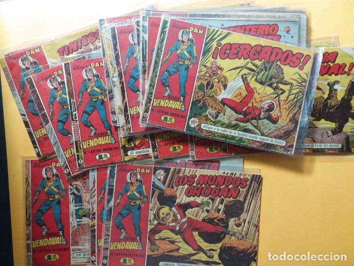 Tebeos: EL CAPITAN INVENCIBLE ORIGINAL COMPLETA 26 NUMEROS - Foto 2 - 175837137