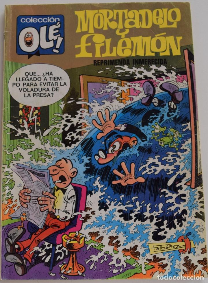 MORTADELO Y FILEMON Nº 115 - REPRIMENDA INMERECIDA - COLECCIÓN OLE! - 1º EDICIÓN 1976 (Tebeos y Comics - Bruguera - Ole)