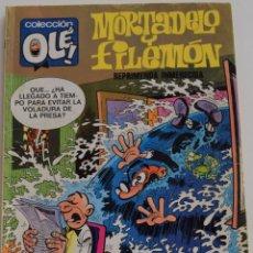 Tebeos: MORTADELO Y FILEMON Nº 115 - REPRIMENDA INMERECIDA - COLECCIÓN OLE! - 1º EDICIÓN 1976. Lote 175856013