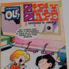 Tebeos: ZIPI Y ZAPE Nº 123 - TRAVESURAS EN COMUN - COLECCIÓN OLE! - 1º EDICIÓN 1976. Lote 175860843