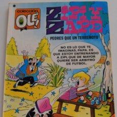 Tebeos: ZIPI Y ZAPE Nº 157 - PEORES QUE UN TERREMOTO - COLECCIÓN OLE! -1º EDICIÓN 1978. Lote 175861539