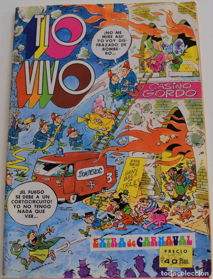 TIO VIVO NUMERO EXTRA DE CARNAVAL - BRUGUERA 1975 (Tebeos y Comics - Bruguera - Tio Vivo)