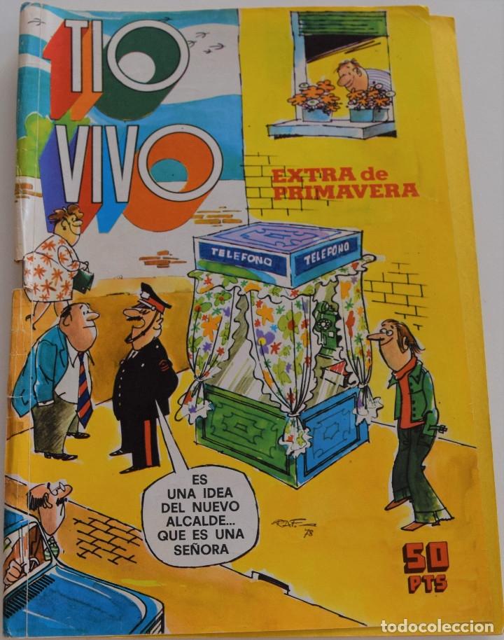 TIO VIVO NUMERO EXTRA DE PRIMAVER - BRUGUERA 1978 (Tebeos y Comics - Bruguera - Tio Vivo)