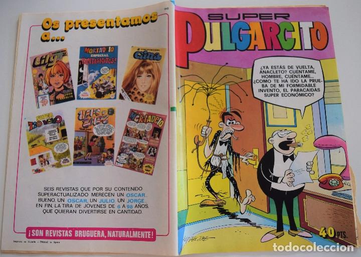 Tebeos: SUPER PULGARCITO Nº 98 - BRUGUERA 1979 - Foto 2 - 175864307