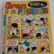 Tebeos: GRAN PULGARCITO Nº 16 - BRUGUERA 1º EDICIÓN 1969. Lote 175864592