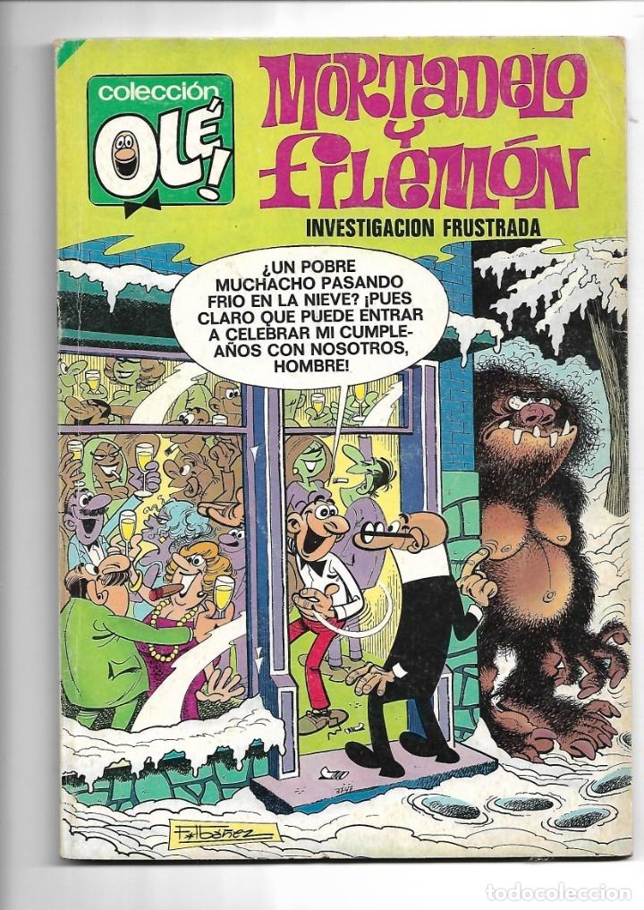 MORTADELO Y FILEMÓN, COLECCIÓN OLÉ AÑO 1980 Nº 111. DIBUJADA POR FRANCISCO IBAÑEZ. (Tebeos y Comics - Bruguera - Mortadelo)