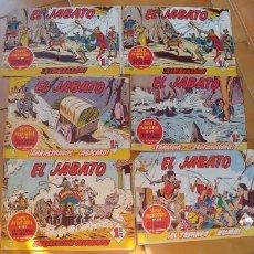 Tebeos: EL JABATO-9 COMIC-AÑO 1959-1961,ALGUNOS TIENEN PAGINAS SUELTAS PERO SIN FALTARLE NINGUNA. Lote 175926329