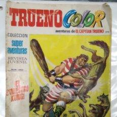 Tebeos: TRUENO COLOR . EL SINIESTRO KUNG. 12PTAS.. Lote 175927645