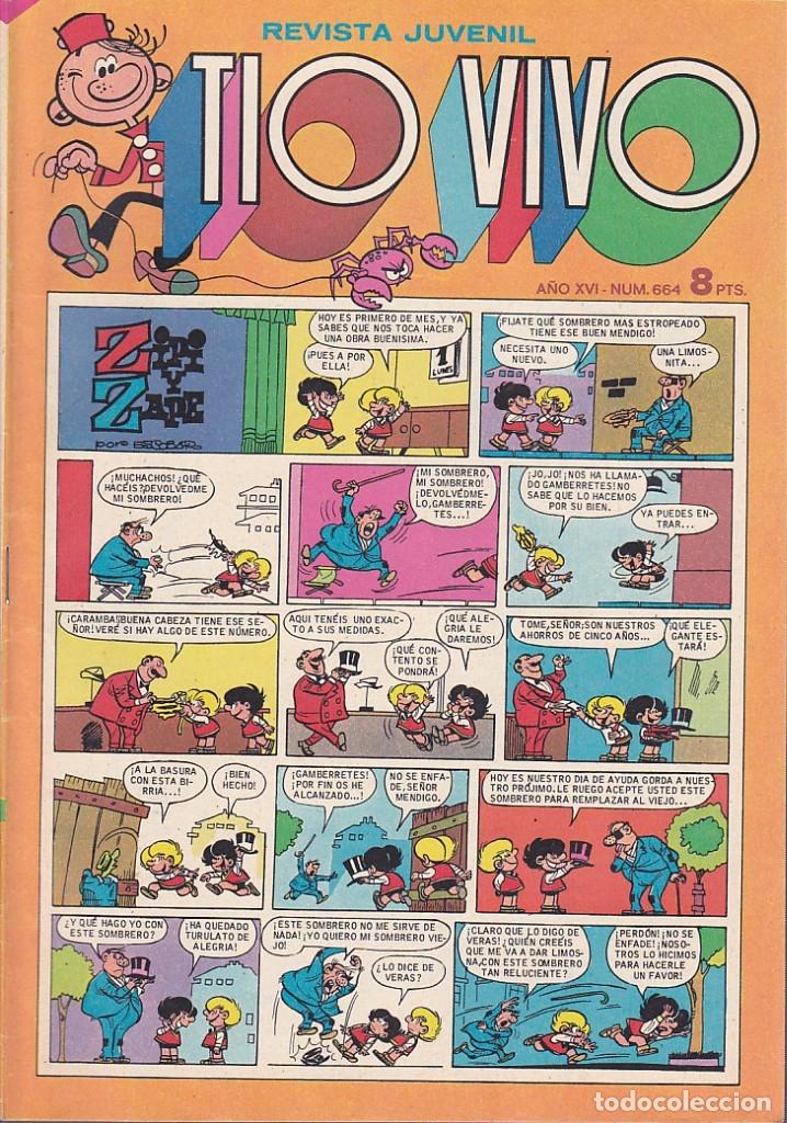 COMIC COLECCION TIO VIVO 2ª EPOCA Nº 663 (Tebeos y Comics - Bruguera - Tio Vivo)