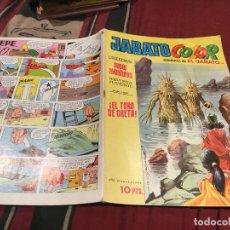 Tebeos: JABATO COLOR. Nº 176.EL TORO DE CRETA. 1ª EPOCA 1973.. Lote 176061264