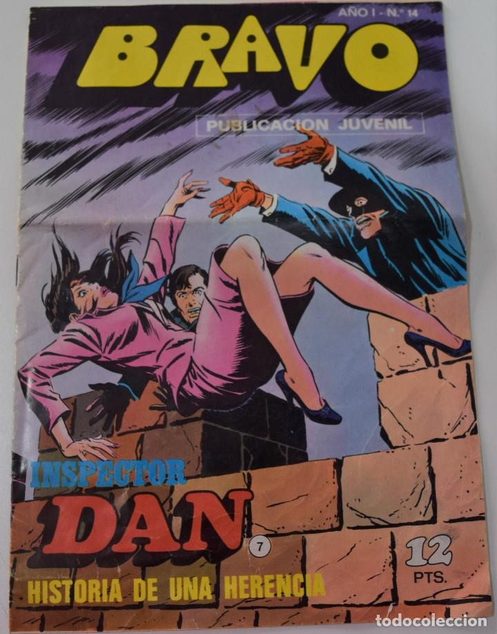 COLECCIÓN BRAVO - INSPECTOR DAN Nº 14 - HISTORIA DE UNA HERENCIA (Tebeos y Comics - Bruguera - Bravo)