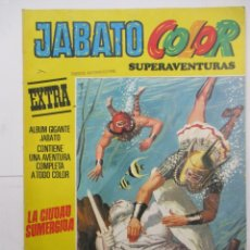 Tebeos: JABATO COLOR - SUPERAVENTURAS EXTRA - Nº 6 - ALBUM GIGANTE - BRUGUERA. Lote 176077430