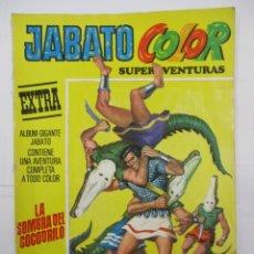 Tebeos: JABATO COLOR - SUPERAVENTURAS EXTRA - Nº 9 - ALBUM GIGANTE - BRUGUERA. Lote 176077544