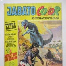 Tebeos: JABATO COLOR - SUPERAVENTURAS EXTRA - Nº 10 - ALBUM GIGANTE - BRUGUERA. Lote 176077635