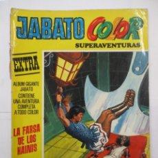 Tebeos: JABATO COLOR - SUPERAVENTURAS EXTRA - Nº 11 - ALBUM GIGANTE - BRUGUERA. Lote 176077679