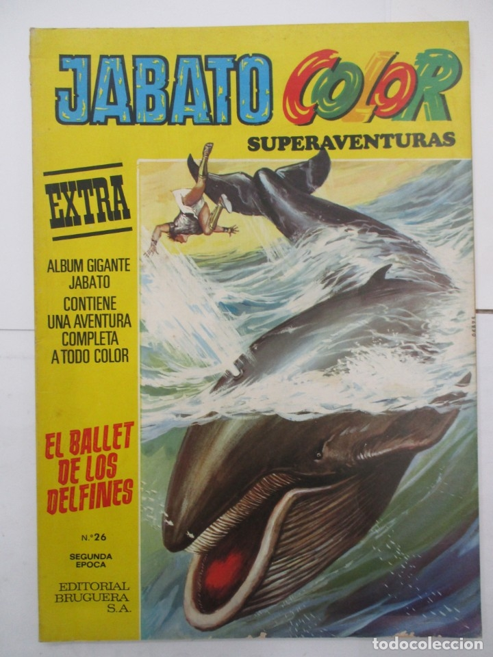 JABATO COLOR - SUPERAVENTURAS EXTRA - Nº 26 - ALBUM GIGANTE - BRUGUERA (Tebeos y Comics - Bruguera - Jabato)
