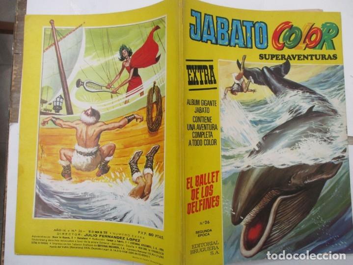 Tebeos: JABATO COLOR - SUPERAVENTURAS EXTRA - Nº 26 - ALBUM GIGANTE - BRUGUERA - Foto 2 - 176077832