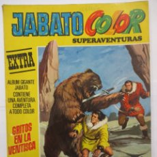 Tebeos: JABATO COLOR - SUPERAVENTURAS EXTRA - Nº 52 - ALBUM GIGANTE - BRUGUERA. Lote 176077898