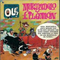Tebeos: OLE Nº 316 MORTADELO Y FILEMON - MUNDIAL MEXICO 86 - BRUGUERA 1986, ULTIMO DE LA COLECCION, DIFICIL. Lote 176096155