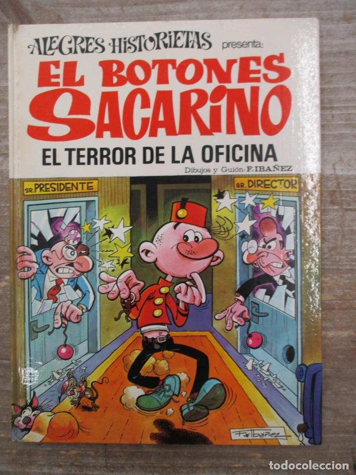 ALEGRES HISTORIETAS - EL BOTONES SACARINO - Nº 12 - EL TERROR DE LA OFICINA - BRUGUERA (Tebeos y Comics - Bruguera - Otros)