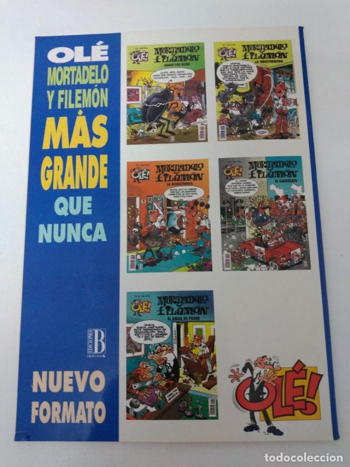 Tebeos: Mortadelo y Filemón número 18 colección Olé Tapa en relieve 1993 primera edición - Foto 2 - 189533162