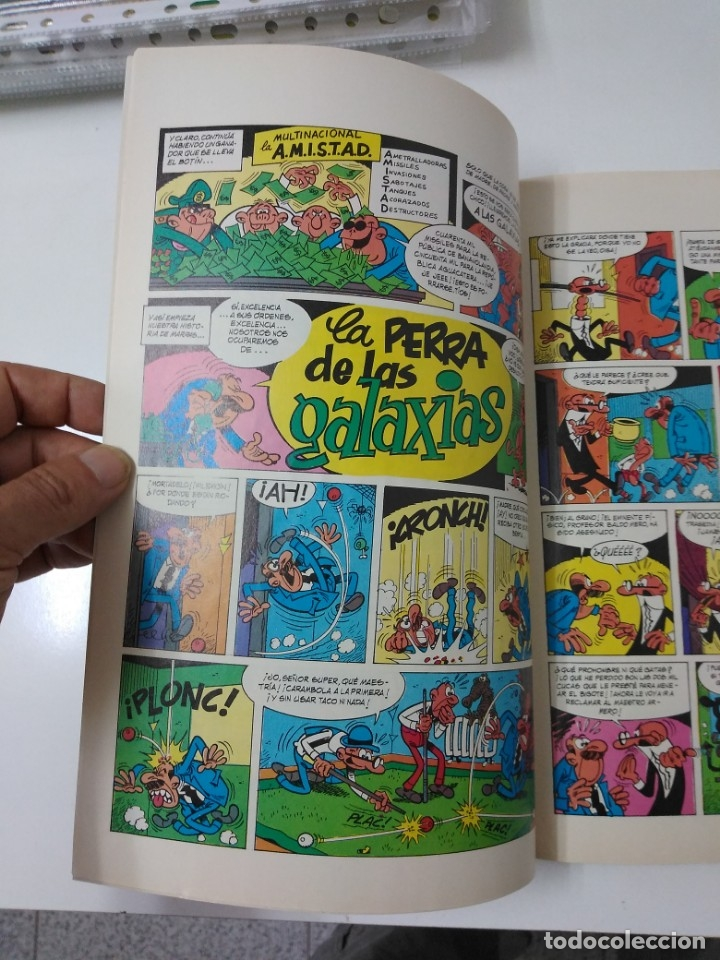 Tebeos: Mortadelo y Filemón número 18 colección Olé Tapa en relieve 1993 primera edición - Foto 4 - 189533162