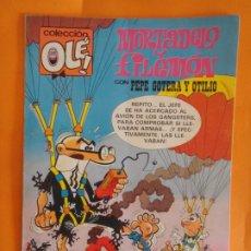 Tebeos: OLE ! MORTADELO Y FILEMON CON PEPE GOTERA Nº 225 BRUGUERA 1A EDICION 1981 .. Lote 176268378