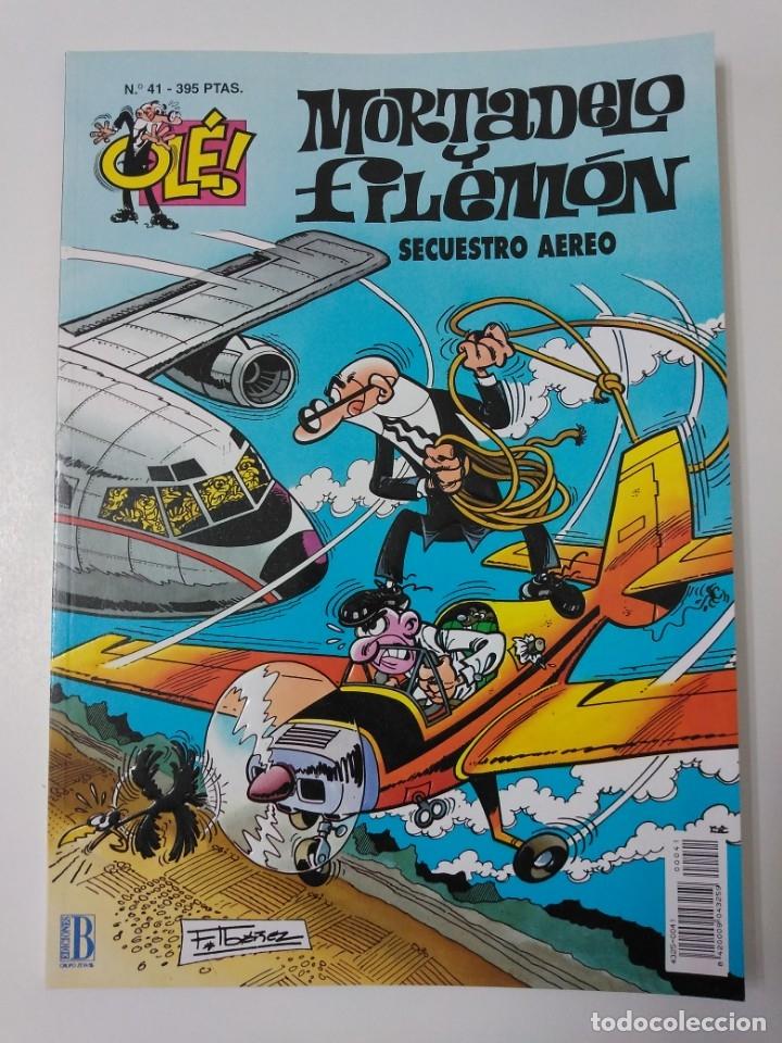 MORTADELO Y FILEMÓN NÚMERO 41 COLECCIÓN OLÉ TAPA EN RELIEVE 1996 SEGUNDA EDICIÓN (Tebeos y Comics - Bruguera - Mortadelo)