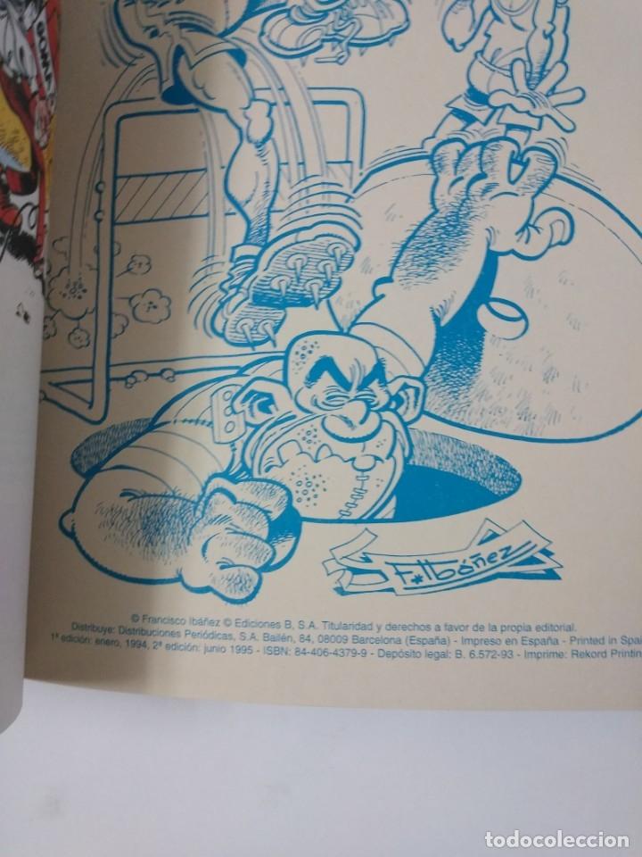 Tebeos: Mortadelo y Filemón número 50 colección Olé Tapa en relieve 1995 segunda edición - Foto 3 - 189534442