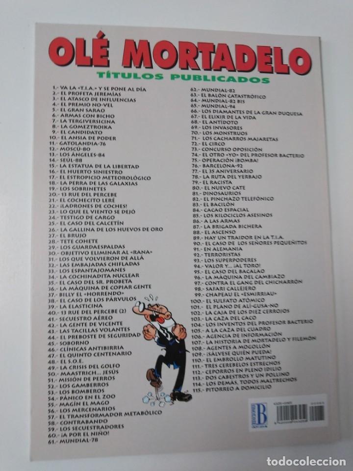 Tebeos: Mortadelo y Filemón número 65 colección Olé Tapa en relieve 1995 segunda edición - Foto 2 - 189535870