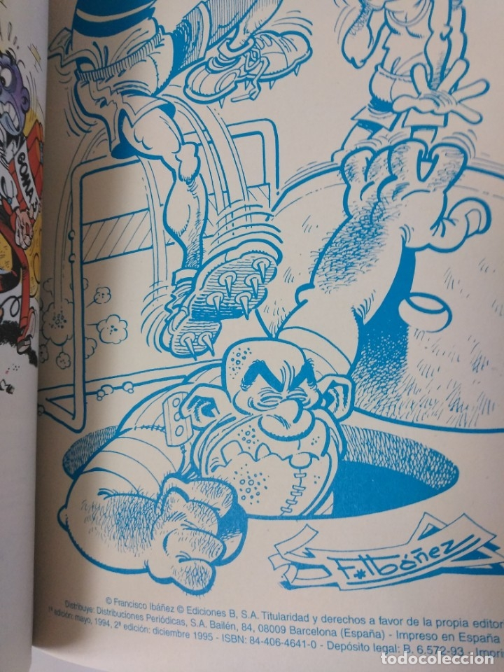 Tebeos: Mortadelo y Filemón número 65 colección Olé Tapa en relieve 1995 segunda edición - Foto 3 - 189535870