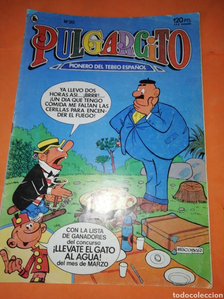 Tebeos: PULGARCITO. NUMEROS 2024 Y 2089 BRUGUERA 1970. Y N° 20 DE 1986 - Foto 6 - 176322360