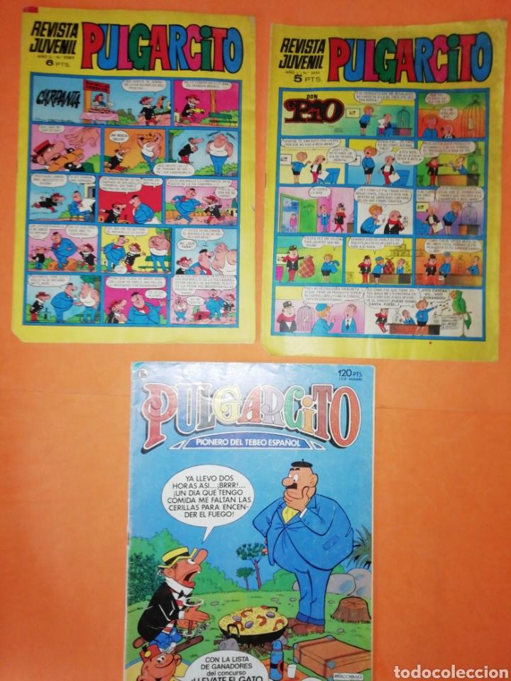 PULGARCITO. NUMEROS 2024 Y 2089 BRUGUERA 1970. Y N° 20 DE 1986 (Tebeos y Comics - Bruguera - Pulgarcito)
