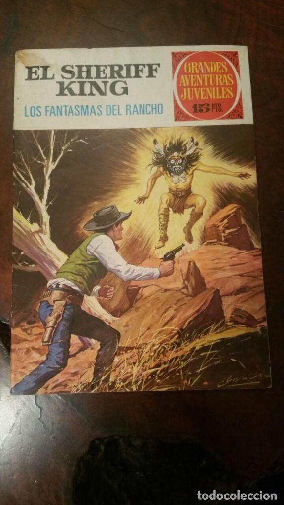 EL SHERIFF KING (GRANDES AVENTURAS JUVENILES Nº 10). LOS FANTASMAS DEL RANCHO. BRUGUERA 1971 (Tebeos y Comics - Bruguera - Sheriff King)