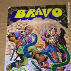 Tebeos: BRAVO Nº 19 EL CACHORRO 10. Lote 176432007
