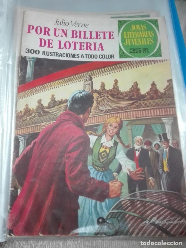 JOYAS LITERARIAS JUVENILES POR UN BILLETE DE LOTERÍA (Tebeos y Comics - Bruguera - Joyas Literarias)