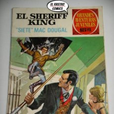 Tebeos: EL SHERIFF KING Nº 22, SIETE MAC DOUGAL, 1ª EDICIÓN, ED. BRUGUERA 1972, B8. Lote 176433684