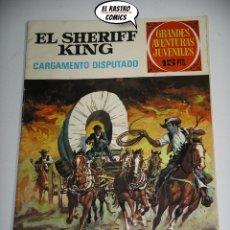 Tebeos: EL SHERIFF KING Nº 8, CARGAMENTO DISPUTADO, 1ª EDICIÓN, ED. BRUGUERA 1971, B8. Lote 176435137