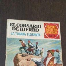 Tebeos: EL CORSARIO DE HIERRO. LA TUMBA FLOTANTE. GRANDES AVENTURAS JUVENILES. NUMERO 49. . Lote 176755437