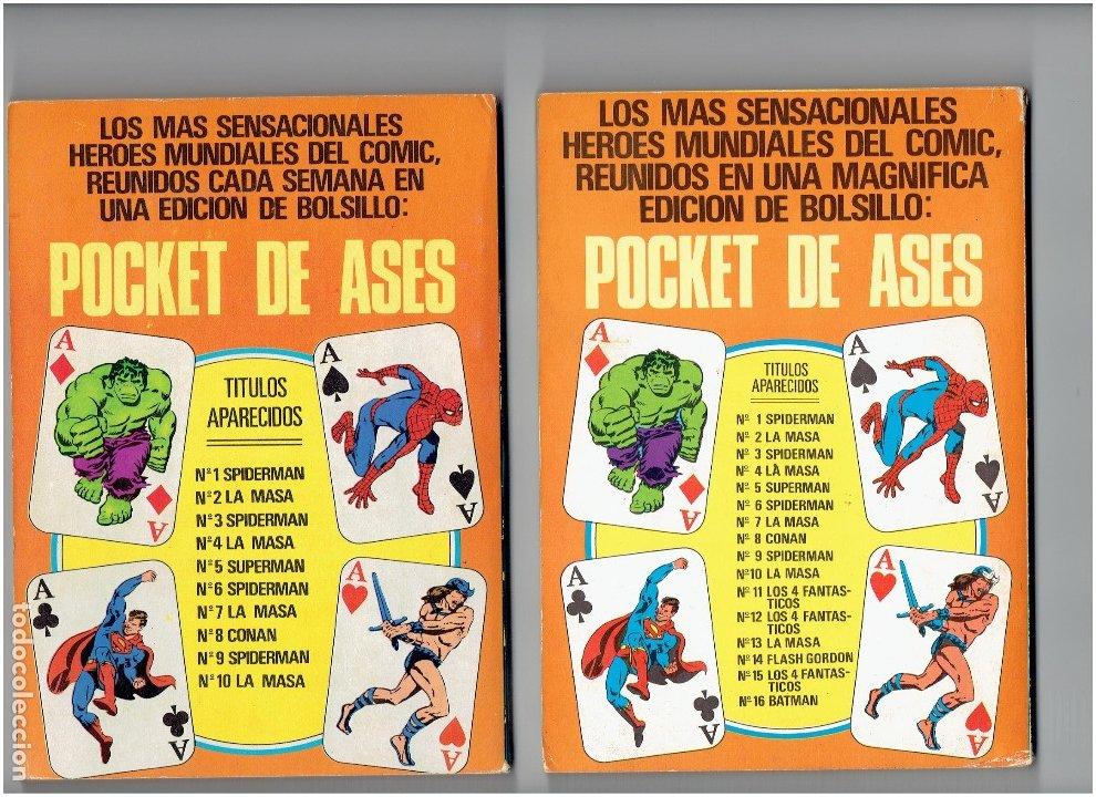 Tebeos: * POCKET DE ASES * ED. BRUGUERA 1981 * LOTE DE 5 TOMOS EXCELENTES * - Foto 4 - 176804189
