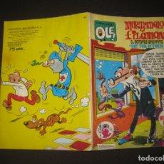 Tebeos: MORTADELO Y FILEMON EL BOTONES SACARINO Y SIR TIM O'THEO. COL. OLE Nº 174. BRUGUERA 1 ª ED. 1979. Lote 176813493