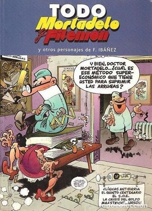 TODO MORTADELO Y FILEMON Y OTROS PERSONAJES DE F. IBÁÑEZ- Nº 24. EST8B2 (Tebeos y Comics - Bruguera - Mortadelo)