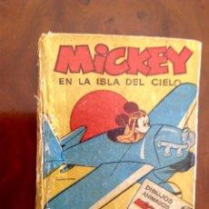 Tebeos: MICKEY EN LA ISLA DEL CIELO-COLECCIÓN PULGARCITO-BRUGUERA-AÑOS 40. Lote 176860170